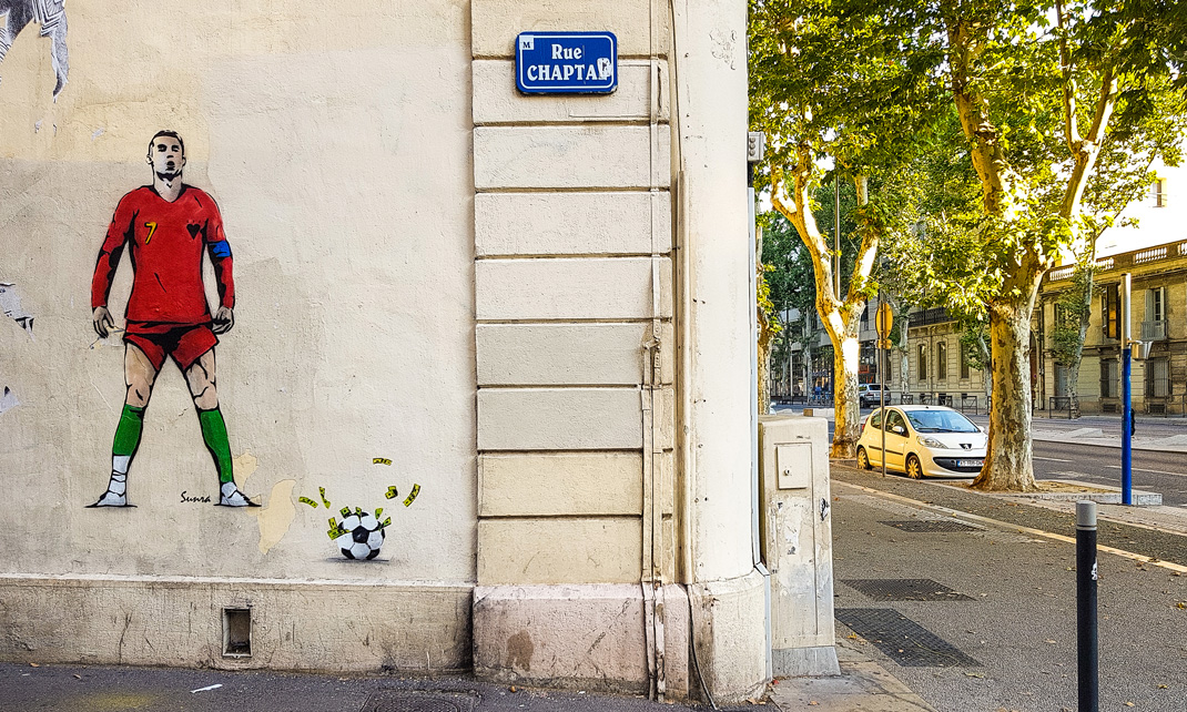 Rue Chaptal - Montpellier - France - 2018