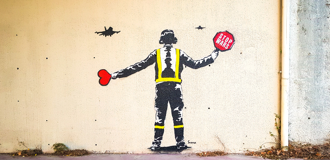 Rue des Chasseurs - Montpellier - France - 2018