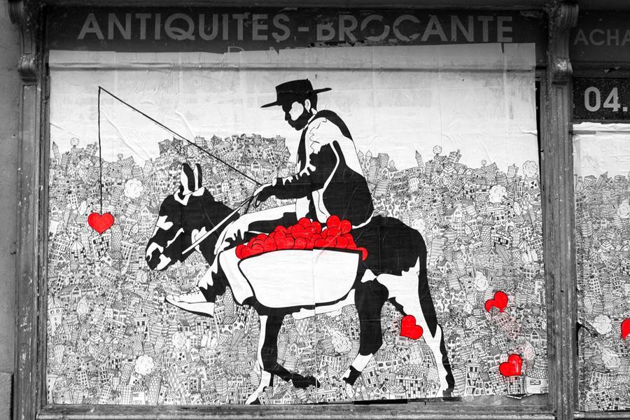 Collaboration avec Oups - Boulevard du Jeu de Paume - Montpellier - France - 2014