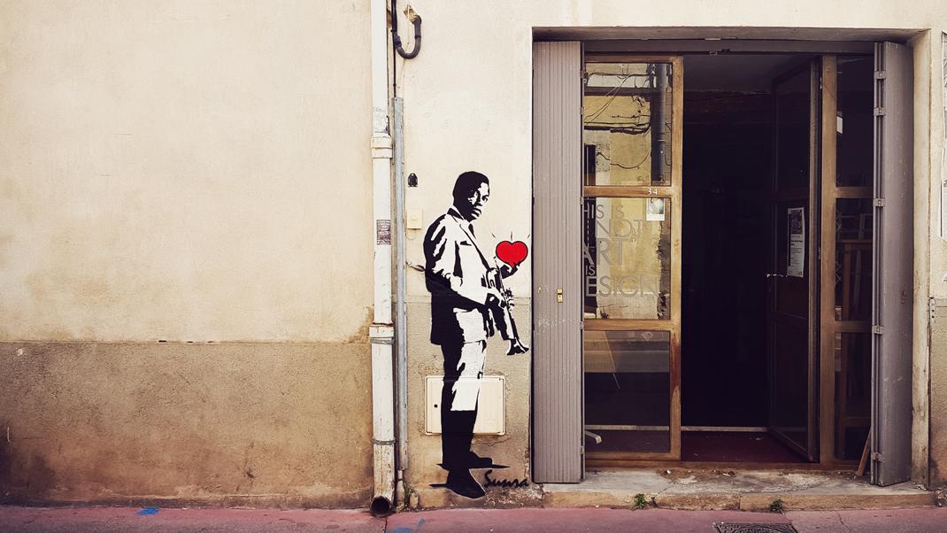 Rue de la méditerranée - Montpellier - France - 2016